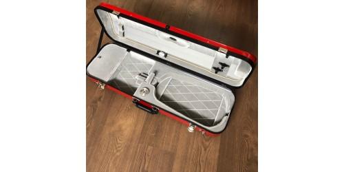 Violin case fiberglass
